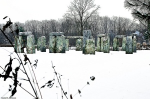 Nunica Henge, Michigan. Image Credit; Daniel E.Johnson