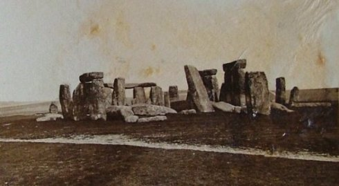 Stonehenge in 1877 - without fences