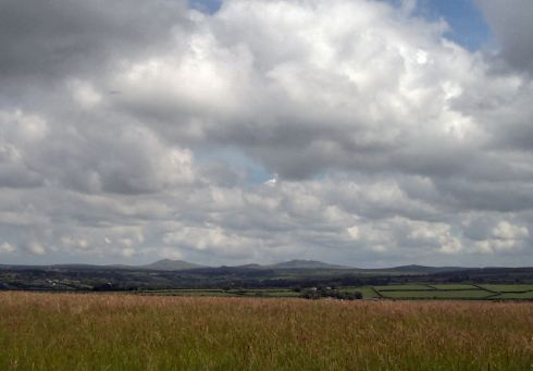 View from Helland Barrow