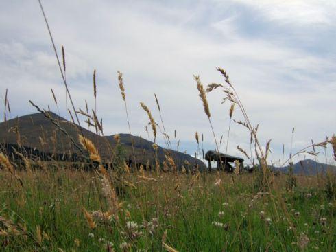 Bachwen, Gwynedd, from the north.