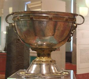 The Derrynaflan Chalice - Image by Kglavin (Wikimedia Commons)