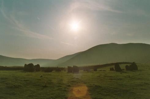 Sunkenkirk Stone Circle, Cumbria - (Image credit Tim Clark, Heritage Action)