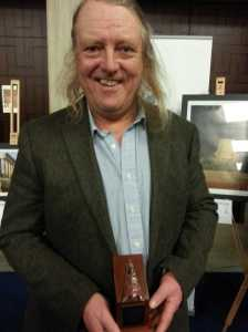 Phil Harding, can't believe his luck!