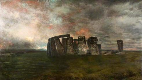 Stonehenge by Henry Mark Anthony (1817-1886)