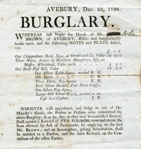 Avebury notice