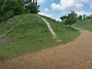 Danebury Erosion