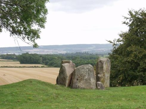 Coldrum Long Barrow, Kent – worth a brief stop en route to Anne Boleyn's early home at Hever Castle?