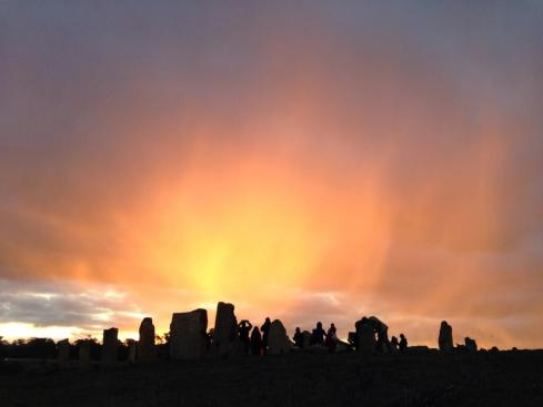 """As the Canberra times reported: """"Out at Bywong they steered clear of any of the pagan rituals seen at some genuinely ancient sites around the world, and instead enjoyed a barbecue, hot chocolate, mulled wine and a fun family atmosphere""""."""