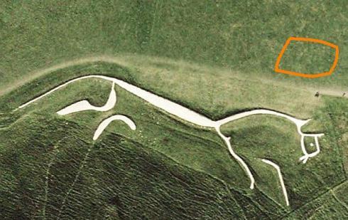 Site of original ritual gathering. 28 July 2003