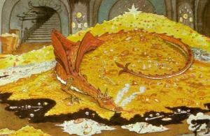 Tolkein's Smaug: academic, consevationist or cacheologist?