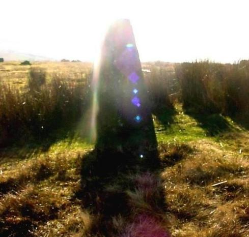 Mitchell's Fold Stone Circle, Shropshire,  in early Spring