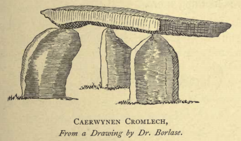 'Caerwynen' by Dr. Borlase, taken from 'Naenia Cornubia', by W.C. Borlase.