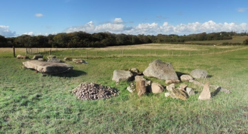 Carwynnen stones, all nicely sorted and categorised, October 2012.