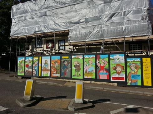 Wheathampstead hoarding