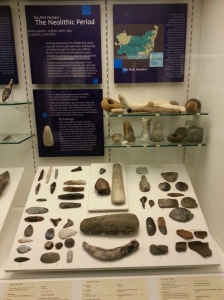 A selection of Neolithic finds from West Stow