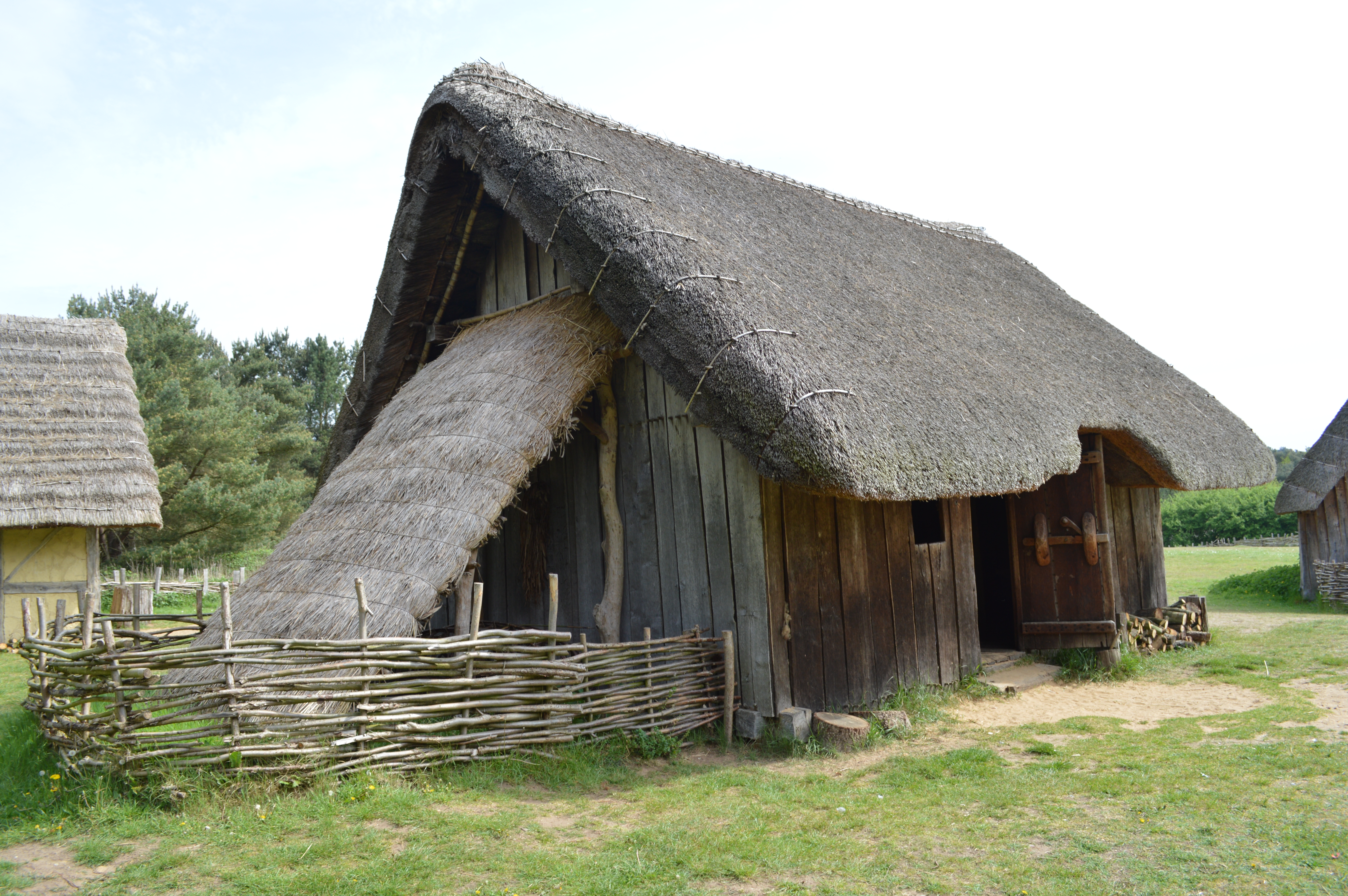 Happy birthday to west stow the heritage journal for Who invented houses
