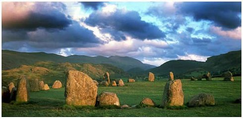 Castlerigg © Copyright Clive Hirst and licensed for reuse under Creative Commons Licence.