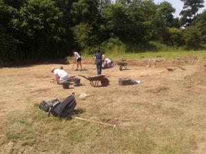 Caerau excavation