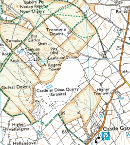 map courtesy of Bing Maps/Ordnance Survey.