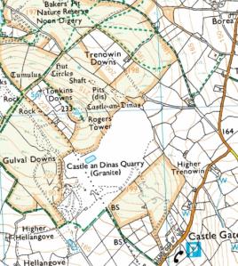 map courtesy of Bing Maps/Ordnance Survey.