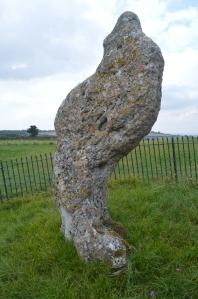A swirly, whirly King Stone. © Alan S.