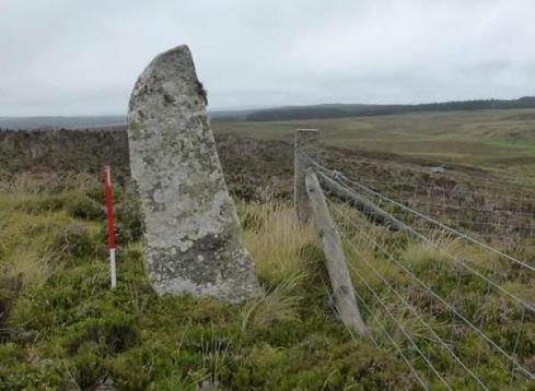Question: How can you tell whether this Scottish standing stone is prehistoric?  Answer: Ask someone from Cadw – a complete lack of evidence won't be an obstacle to their deliberations.