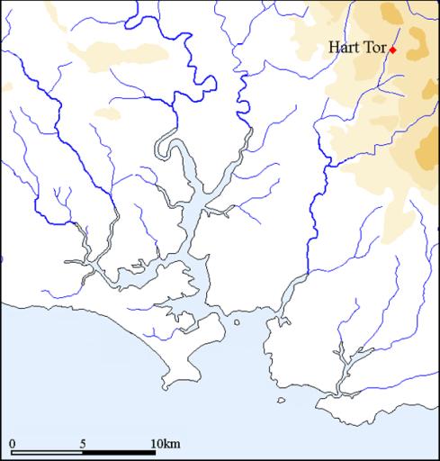 Hart Tor Map