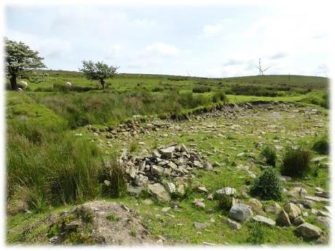 A scheduled farmstead at Mynydd y Betws severely damaged in 2012 did not even appear on Cadw's list of damaged sites.  The site remains on the schedule but no remedial works have been carried out to protect the battered vestiges.  Let's hope the new proposed heritage protection system serves us better than the current one.