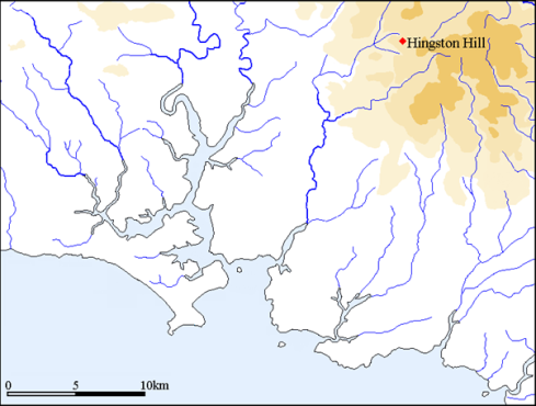 Hingston Map
