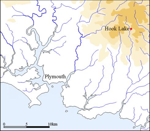 HookLake Map