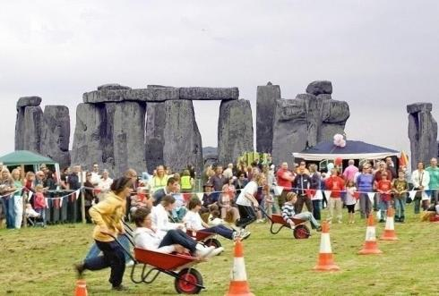 "So here's our fantasy picture of what solstice could and should look like,  since it and Stonehenge belong to everyone in equal measure. Ordinary people having fun celebrating solstice near to but not within the stones – no huge expense, no massive security, no litter, no graffiti, no damage, no stone-standing, no climbing on them, no ""personal alcohol allowance"", no ejections, no endless moaning, no faeces, no middle-of the-nighting, no crazy calls for unrestricted access, no arrests and no embarrassment and humiliation for EH and Britain! Isn't that better? Who or what is preventing it happening?."
