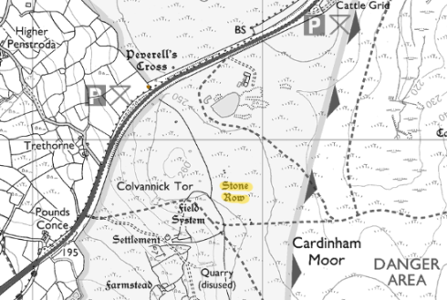 Colvannick map
