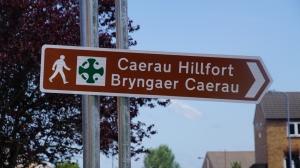 Caerau Sign