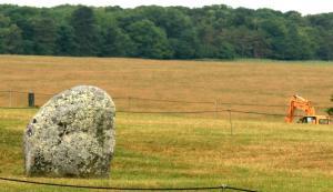 digging at Stonehenge