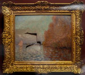 A damaged Monet. What has that got to do with it?