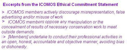 ICOMOS Ethical