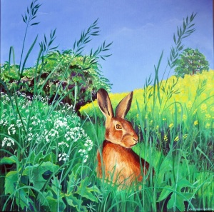 Big Brown Hare, Jane Tomlinson, Meritage Action