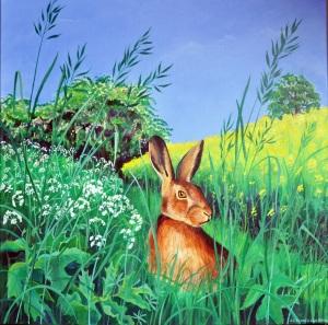 Big Brown Hare, Jane Tomlinson, Meritage Action