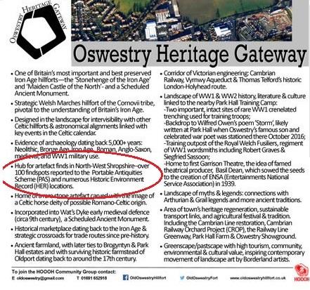 Oswestry carve up 3