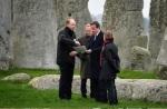Cameron at Stonehenge